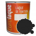 Peinture noir standard mat 6001