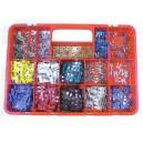 Boite de 310 fusibles enfichables standards et mini