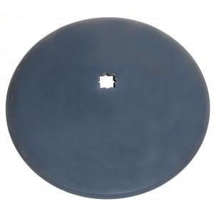 Disque de cover crop carré de 41 lisse diamètre 660 épaisseur 6
