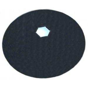 Disque de cover crop hexagonal 89 IH lisse diamètre 610 épaisseur 6