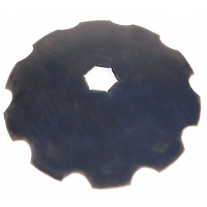 Disque de cover crop hexagonal 89 IH crénelé diamètre 610 épaisseur 6