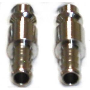 Coupleurs rapides mâles tuyau D 7 par 2