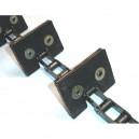 Chaine Complète à otons longueur 6m15 40 équerres pour CLAAS Lexion