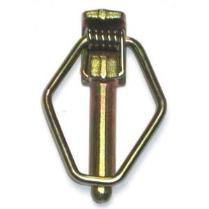 Goupille clips de sécurité à bouclier