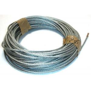 Câble acier / Ame textile