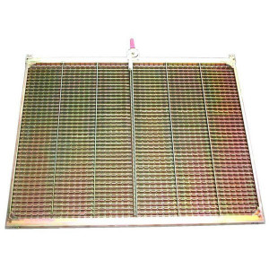 Demi grille supérieure GR/E CLAAS 1738x555 mm