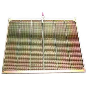 Demi grille supérieure gauche GR/E JOHN DEERE 1360x790 mm
