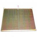 Demi grille inférieure CZ/4 CLAAS 1538x635 mm