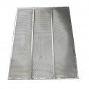 Demi grille inférieure à trous DEUTZ FAHR  FENDT  MASSEY FERGUSON 1300x598 mm