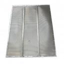 Demi grille supérieure à trous CLAAS 1738.3x628.65 mm