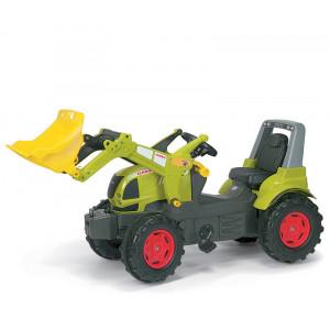 Tracteur Claas Arion avec chargeur