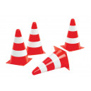 Set de 4 cône de signalisation rollyPylons