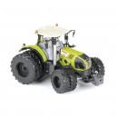 Tracteur CLAAS Axion 870 avec roues jumelées