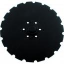 Disque de semoir crénelé SULKY Cultidisc  Ref 680197