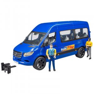 MERCEDES BENZ Sprinter Transfer avec chauffeur en passagier