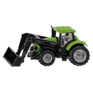 Tracteur DEUTZ FAHR avec chargeur frontal