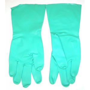 Paire de gants nitrile protection chimique