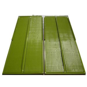 Kit de demi grille supérieure GR/E DEUTZ FAHR 1545x596 mm