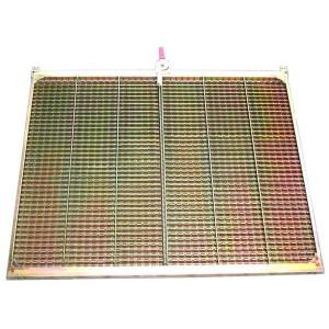 Kit de demi grille supérieure CZ/2 DANIA FENDT MASSEY FERGUSON 1400x807 mm
