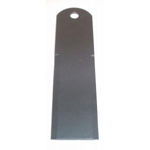 Contre-couteau BISO 195x50x3 Trou 12, 2 faces lisses