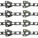 Jeu de 4 chaînes de convoyeur N° 6 CLAAS DOMINATOR 100-105 renforcé/4