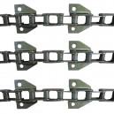 Jeu de 3 chaînes de convoyeur N° 6 FAHR 1000-1102-1202 renforcé