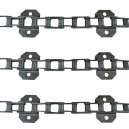 Jeu de 3 chaînes de convoyeur N° 6/6 long FAHR 1300-1300h-1600-1610-1620-1620h