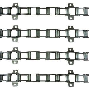 Jeu de 4 chaînes de convoyeur N°16 JD 1188