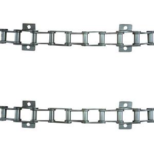 Jeu de 2 chaînes de convoyeur N°12 LAVERDA /FIAT m100-3500 2ch.-court