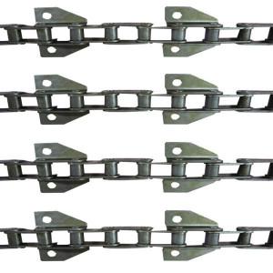 Jeu de 4 chaînes de convoyeur N° 6/4 MF/dro 40