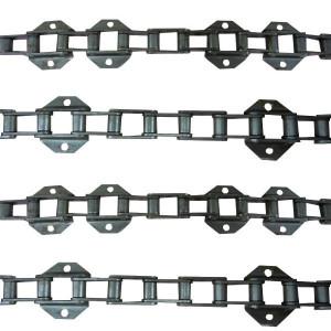 Jeu de 4 chaînes de convoyeur N°14 NH tx 66-67? (4ch. 3x19 bar)