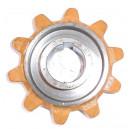 Pignon latéral de convoyeur D46 - 10 dents Réf : 89838869/84038624/392932/437030 NH TC
