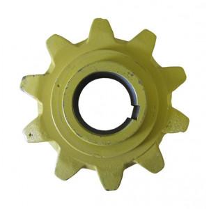 Pignon central de convoyeur D50 - 10 dents Réf : 89838870/84038625/448041/448132
