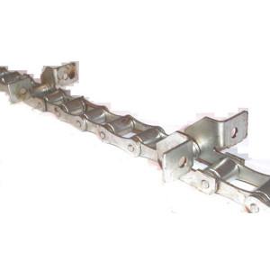 Chaine nue à otons longueur 4m97 20 équerres pour CASE IH