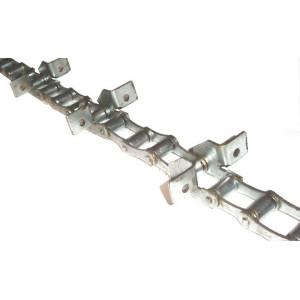 Chaine nue à otons longueur 5m96 36 équerres pour LAVERDA FIAT