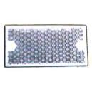 Catadioptre rectangle à fixer Blanc