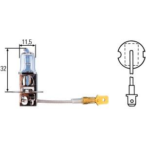 Ampoule, projecteur de travail Hella 12 V H3 55 W