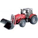 Tracteur MF 7480 avec pelle