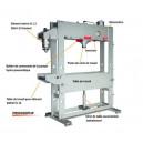 Presse d'atelier hydraulique 40 tonnes Rassant