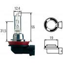Ampoule, projecteur principal Hella 12V H9 65W