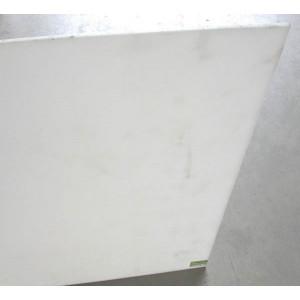 Plaque 1m²  plat PE 300 NAT extrude épaisseur 10