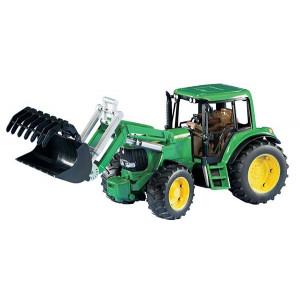 Tracteur JOHN DEERE 6920 avec chargeur