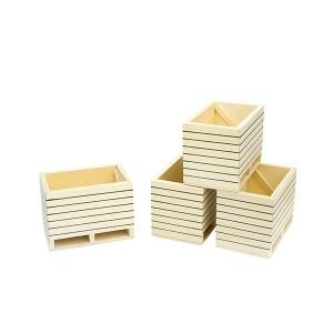 Caisse/palette à pommes de terre - lot de 4 pièces