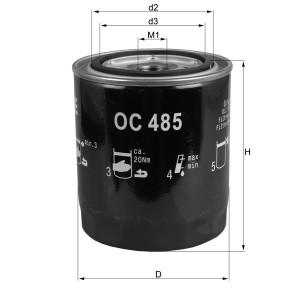 Filtre à huile Mahle OC485