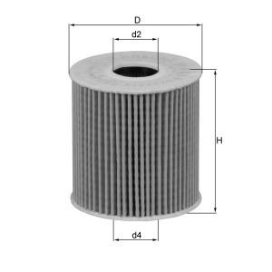 Filtre à huile Mahle OX339/2D ECO