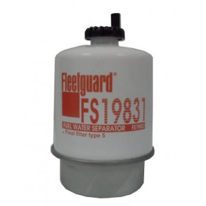 Filtre séparateur eau / gasoil Fleetguard FS19831